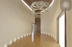 Fibonacci chandelier