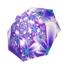 Purple Flowers Pattern Umbrella Foldable Umbrella by Tracey Lee Art Designs Purple Flowers, Flower Patterns, Art Designs, Model, Fun, Art Projects, Flower Doodles, Floral Patterns, Lol