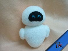 Cute Eve plush by YourMemory on Etsy, $9.99