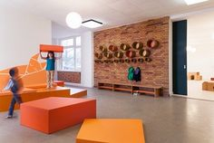 The Architecture of Early Childhood - Berlin Kindergarten by Baukind - Multipurpose Area