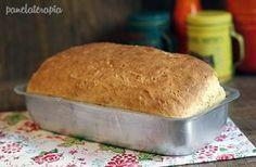Pão Caseiro de Massa Mole - muito fácil de fazer, nem precisa sovar!