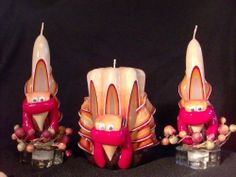 """Thanksgiving Turkey Candle Set by Zee Candles. $28.95. A whimsical Thanksgiving decoration, this 5? Turkey Pillar Candle is hand-dipped in layers of yellow, orange, red, rust and brown to create a rich earth-tone effect. Our adorable Turkey Candle makes the perfect addition to your Thanksgiving centerpiece or a great gift for whomever hosts Thanksgiving Dinner this year.      Standing 6? tall, the tapers are hand-dipped and feature hand carved """"feathers"""" and a whimsical ..."""