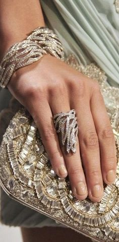 The Rose Garden. Obsessed with her bracelet and ring. Other Accessories, Jewelry Accessories, Fashion Accessories, Bracelets, Bangles, Tamara, Bling, Fashion Moda, Diamond Are A Girls Best Friend