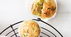 Muffins make the perfect portable snack so try a new flavour combo today. Zucchini Muffins, Savory Muffins, Savory Snacks, Bacon Zucchini, Snack Recipes, Baking Recipes, Cooking With Kids, Cooking Ideas, Food Ideas
