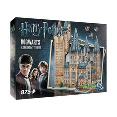 Harry Potter Collection Hogwarts Astronomy Tower Puzzle - This puzzle includes famous buildings of the beloved World of Harry Potter. Combine the 2 puzzles from this unique Harry Potter Hogwarts Collection and get an impressive puzzle of Hogwarts Castle. Harry Potter Laden, Harry Potter Castle, La Saga Harry Potter, Harry Potter Shop, Harry Potter Cosplay, Harry Potter Characters, Harry Potter Hogwarts, Legos, Movies