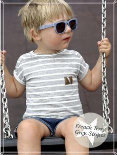 """Dieser French Terry hat es mir unglaublich angetan, denn er ist der perfekte Kombi Stoff und als Basic ein absolutes Muss! - Vorallem ist das Nähschätzchen für jedermann beziehungsweise """"jedefrau""""!"""