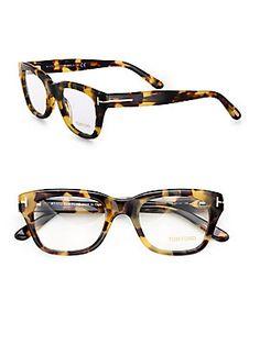 Tom Ford Eyewear Full-Rim Square Optical Glasses