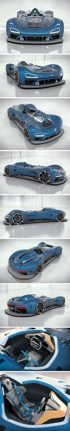 Meet the mouthwatering Racer Fourteen. The latest from designer Ahmed Ghamloush, this stretched out supercar looks like the offspring of a Lotus 2 Eleven and a BAC Mono. Like the Lotus, it's got a predominantly flat hood, full fender body coverings and exaggerated wheel arches. Like the Mono, however, it sports a central, open-air seat for one driver tucked neatly in front of a dramatic overhead scoop.