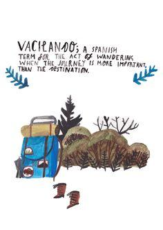 Vacilando by Dick Vincent Illustration