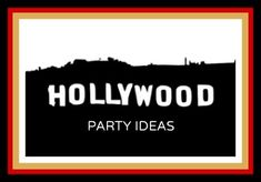 Looking for some great Hollywood party ideas? Be a star on the red carpet as you celebrate in high style at a Hollywood theme party event.