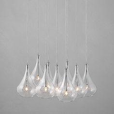 John Lewis Dangle Cluster Ceiling lights
