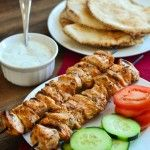 Lebanese Chicken Skewers (Shish Taouk) by The Spice Kit Recipes Middle East Food, Middle Eastern Recipes, Turkey Recipes, Chicken Recipes, Dinner Recipes, Lebanese Chicken, Armenian Recipes, Armenian Food, Eastern Cuisine