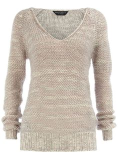 Purple sparkle long sweater