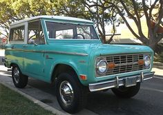 vintage colors for 1969 Bronco - Google Search