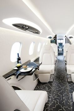 LUXURY TRAVEL. One Day I Dream of Flying on a Private Jet! For more inspiration on flying in style visit www.dontsweatthestewardess.com