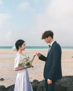 ateez preferences - your wedding photo Pre Wedding Poses, Wedding Couple Photos, Pre Wedding Photoshoot, Wedding Shoot, Wedding Couples, Korean Wedding Photography, Couple Photography, Ulzzang Couple, Cute Couples Goals