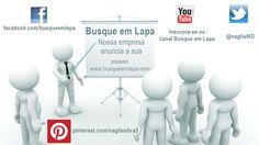 Busque em Lapa esta por toda parte, siga-nos, curta nossa fan page e inscreva-se no nosso canal.