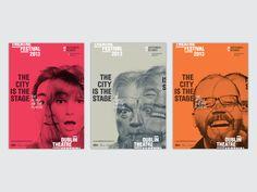 Dublin Theatre Festival (Pitch Visuals) on Behance Web Design Websites, Online Web Design, Web Design Quotes, Website Design Services, Web Design Trends, Web Design Tutorials, Web Design Company, Web Design Black, Graphisches Design