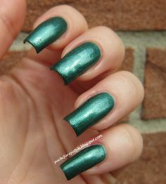 Pee Before Polish: Birthstone Challenge: EMERALD [Nubar Emerald]