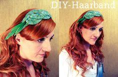DIY-Haarband mit der Strickliesl (i-cords)