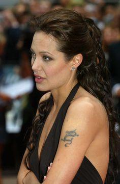 Angelina Jolie hair here is amazing