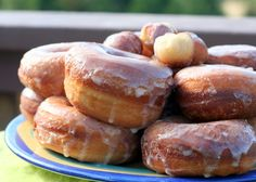 Yeasted Potato Doughnuts    Adapted from Baking in America.  Makes 20 to 32 doughnuts.