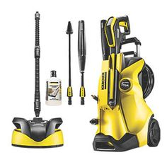 Karcher Premium Full Control Home K4 130bar Standard duty pressure washer with a water-cooled induction motor for quality results. Features LED display showing pressure levels and appropriate cleaning surface. Ideal for use on cars, bicycles, g http://www.MightGet.com/april-2017-1/karcher-premium-full-control-home-k4-130bar.asp