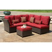 Walmart: Rushreed 7-Piece Patio Dining Set with Under Woven Table, Seats 6