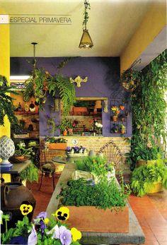La Calle Florida: JARDIM NA JANELA : Reaproveite materiais de demolição para montar um belo quadro de plantas   clic aqui ... PASSO A PASSO....