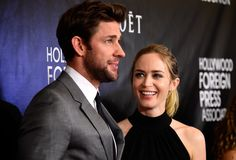 """It's a universally acknowledged truth that when you think """"perfect couple,"""" you think """"Emily Blunt and John Krasinski."""" 