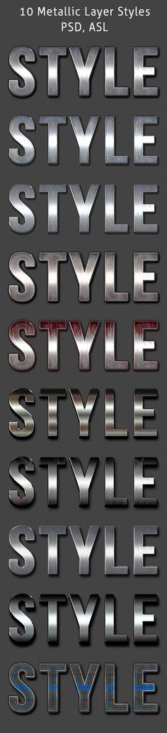 10 Metallic Styles