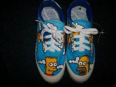simpsons shoes