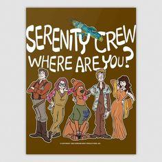 Serenity Crew Where Are You? | TeePublic