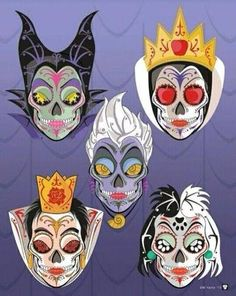 Dia de Los muertos! Evil step mommy style! Love love #evilstepmom