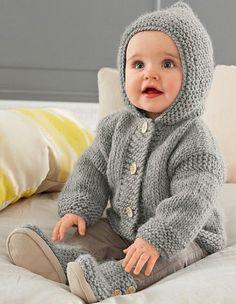 Hooded Coat - Free Pattern | Beautiful Skills - Crochet Knitting Quilting | Bloglovin'
