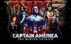 Movie Review: Captain America The Winter Soldier (2014) - Action, Fantasy, Sci-Fi, Movie Review