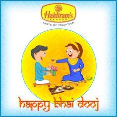 Haldirams wishes you all Happy Bhai Dooj. #Haldirams #HappyBhaiDooj