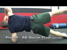 Ten Minute Plank Challenge...This is GREAT!