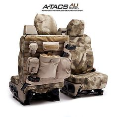 Coverking A-TACS Arid Urban Camo Tactical Seat Covers for Chevy Silverado 1500 in eBay Motors, Parts & Accessories, Car & Truck Parts | eBay
