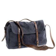 J Crew Wallace & Barnes upland messenger bag
