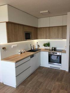 Home Decor Kitchen .Home Decor Kitchen Kitchen Room Design, Kitchen Cabinet Design, Modern Kitchen Design, Home Decor Kitchen, Interior Design Kitchen, Kitchen Furniture, Home Kitchens, Kitchen Ideas, Modern Kitchen Cabinets