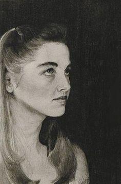 "Ryan Kennedy pencil drawing ""Kimber"""