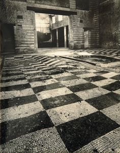 Italy: In the Shadow of Time - Mosaic Atrium, Herculaneum, near Naples Linda Butler Ancient Pompeii, Pompeii And Herculaneum, Roman Bath Spa, Ancient Discoveries, Cruise Europe, Best Barns, Roman History, Frozen In Time, Visit Italy