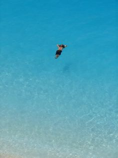"""Floating"" on Porto Katsiki ~ Paradise in Lefkada island, Greece"