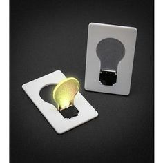 Credit Card Lightbulb | ThinkGeek