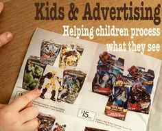 Kids & Advertising: How to help children process what they see. Strategies for teaching children to be discerning consumers of advertising.