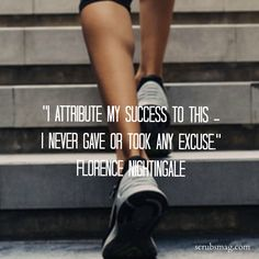 Fitness inspiration from the one and only, Florence Nightingale.