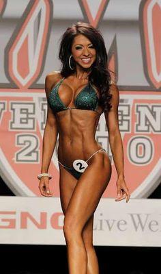 IFBB Bikini Pro Jaime Baird. My fitness inspiration.