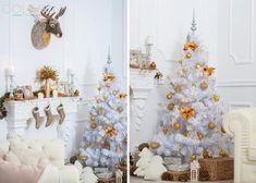 Блестящие идеи оформления новогоднего интерьера