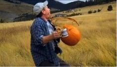 Gourds in Space - Or Punkin Chunkin Missoula Style!  Watch yer coffee! http://www.makeitmissoula.com/2011/11/gourds-in-space/